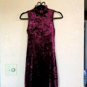 Forever 21 small mock mininturtle neck dress